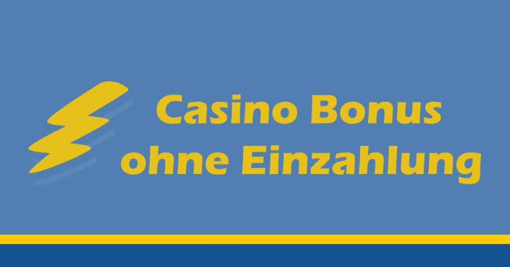 Casino-Bonus ohne Einzahlung Featured Image